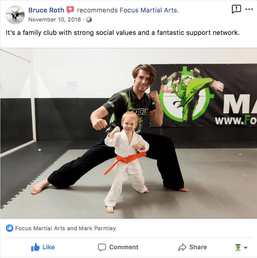 Kids 2, Focus Martial Arts Classes Brisbane, Queensland