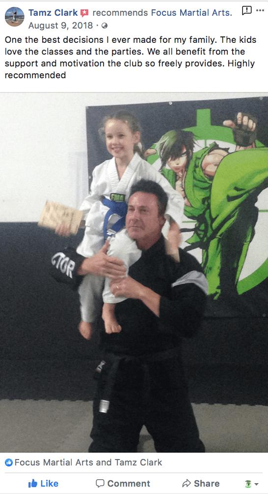 Kids 5, Focus Martial Arts Classes Brisbane, Queensland
