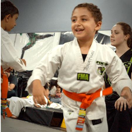 preschool martial arts classes in Brisbane & Gold Coast