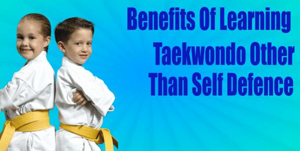 taekwondo lessons