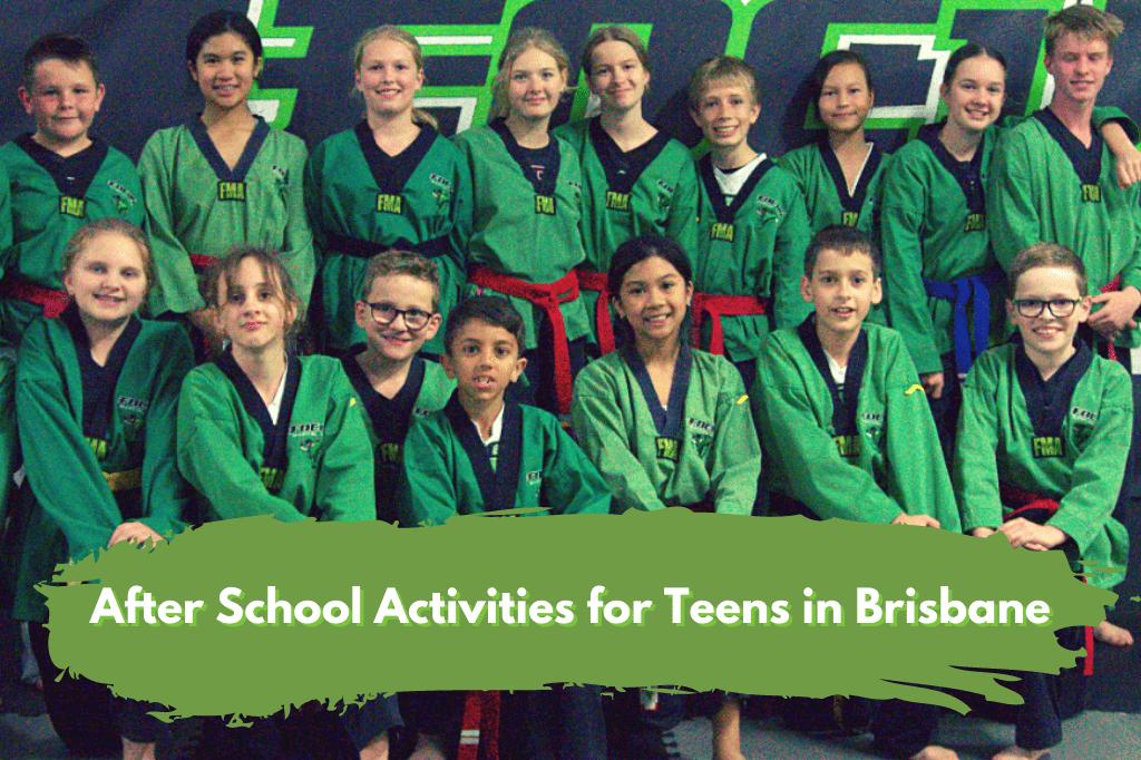 After School Activities for Teens Brisbane